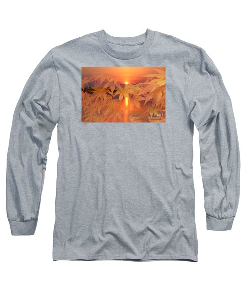 Dreaming Of Fall Long Sleeve T-Shirt by Geraldine DeBoer