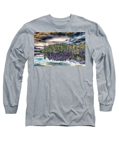 Dreaming Of The Past Long Sleeve T-Shirt by Daniel Hebard