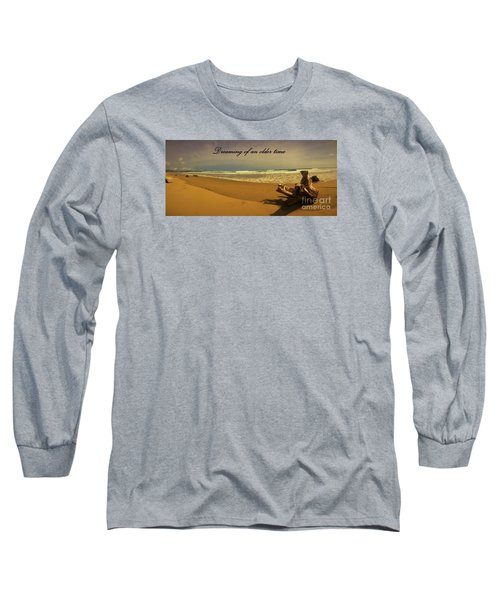 Long Sleeve T-Shirt featuring the photograph Dreaming by Pamela Blizzard