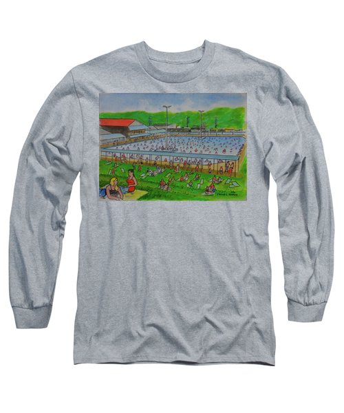 Dreamland Pool Summer 1948 Long Sleeve T-Shirt
