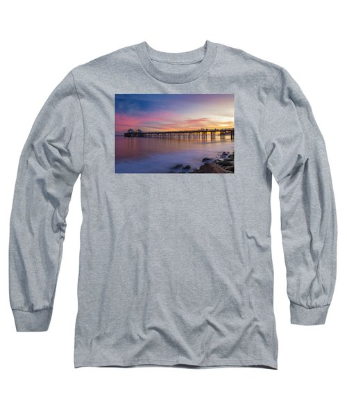 Dreamscape Long Sleeve T-Shirt by Tassanee Angiolillo