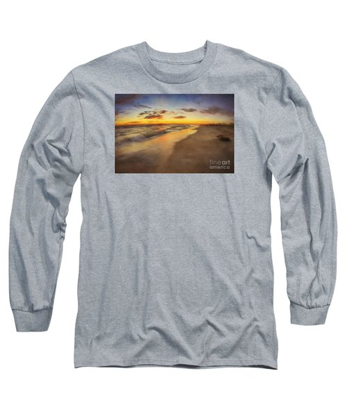 Dreamy Colorful Sunset Long Sleeve T-Shirt