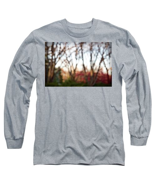Long Sleeve T-Shirt featuring the photograph Dreamy Fall Colors by Susan Stone