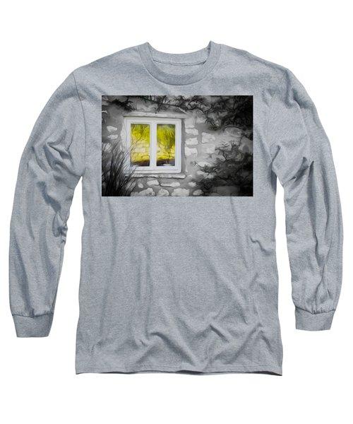 Dreamy Window Long Sleeve T-Shirt