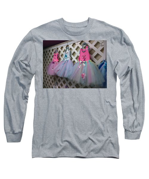 Long Sleeve T-Shirt featuring the digital art Dress For Three by Steve Sperry