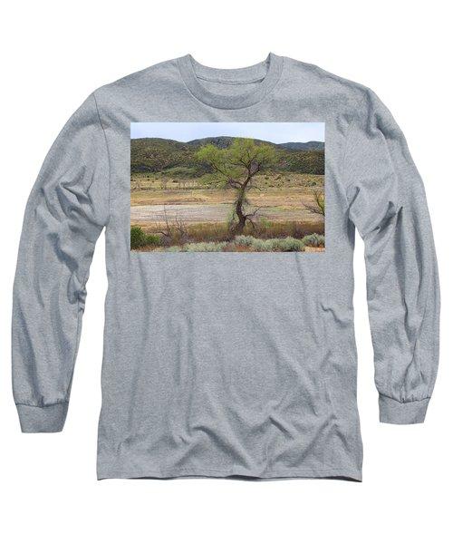 Dried Elizabeth Lake Long Sleeve T-Shirt