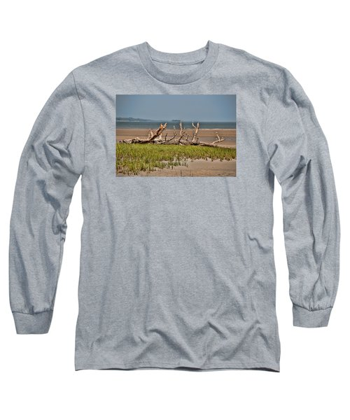 Driftwood With Baracles Long Sleeve T-Shirt by John Black