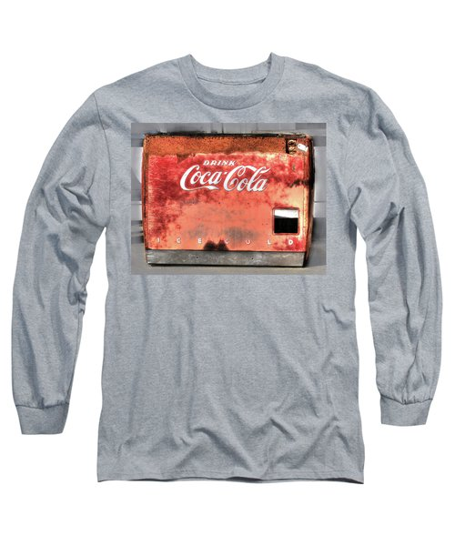 Drink Ice Cold Coca Cola Long Sleeve T-Shirt