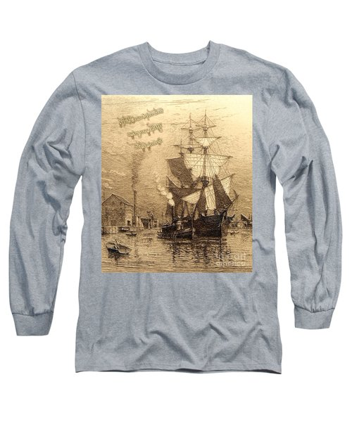 Drinking Rum Before Noon Long Sleeve T-Shirt