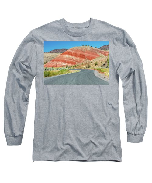 Long Sleeve T-Shirt featuring the photograph Driving To Painted Hills by Pierre Leclerc Photography
