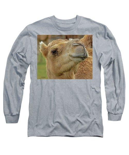 Dromedary Or Arabian Camel Long Sleeve T-Shirt