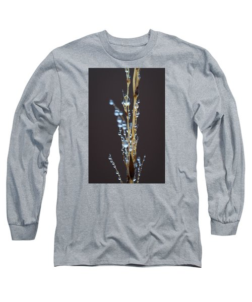 Droplets For Days Long Sleeve T-Shirt by Nikki McInnes