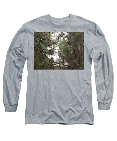 Droplets On Branches Long Sleeve T-Shirt