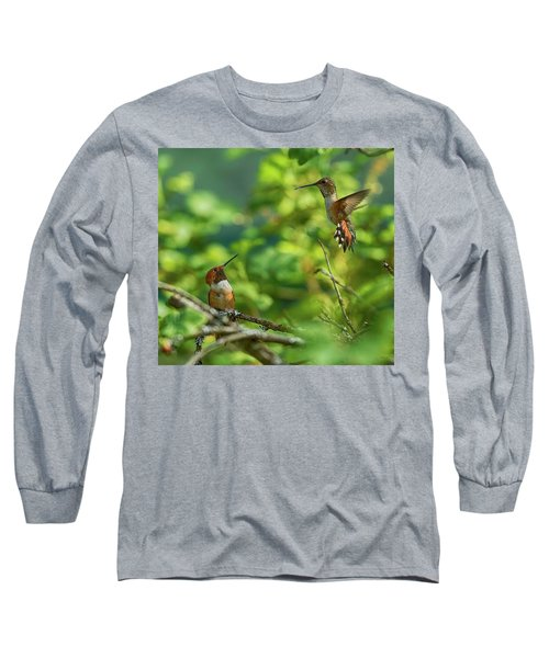 Dropped In Long Sleeve T-Shirt