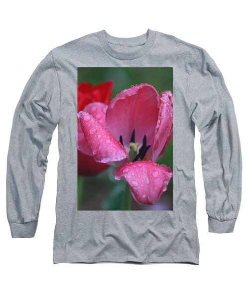 Long Sleeve T-Shirt featuring the photograph Drops Of Spring by Vadim Levin