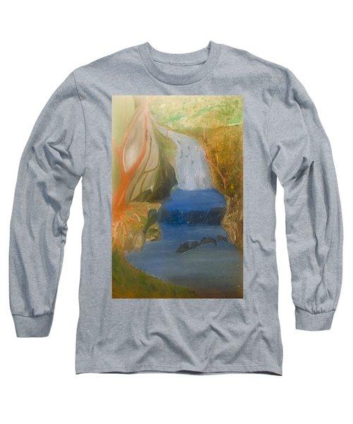 Drowning At 7 Conversations Series Long Sleeve T-Shirt