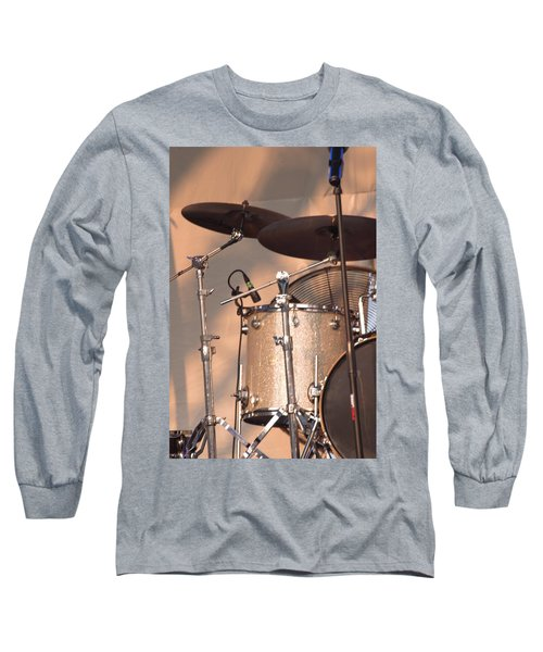 Drum Set Long Sleeve T-Shirt