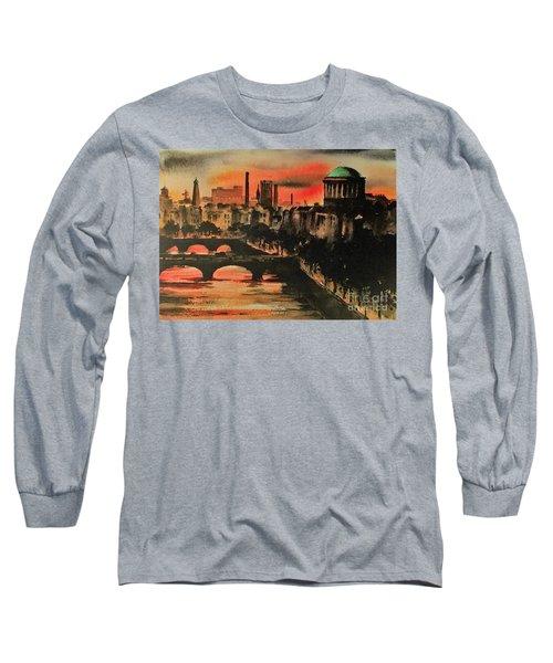 Dublin Sunset Long Sleeve T-Shirt