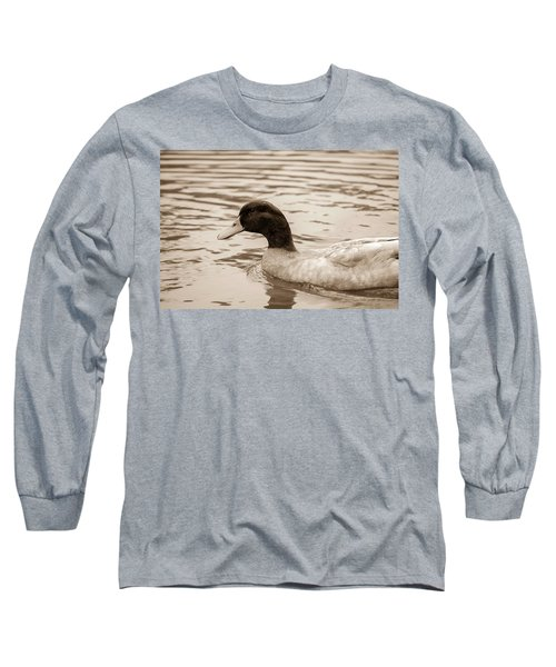 Duck In Pond Long Sleeve T-Shirt