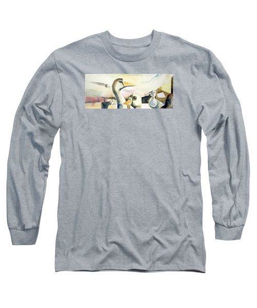 Ducks And Geese Long Sleeve T-Shirt
