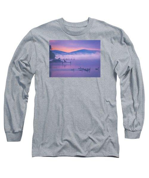 Ducks Under Fog Long Sleeve T-Shirt
