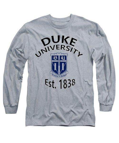 Duke University Est 1838 Long Sleeve T-Shirt
