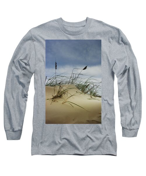 Dune And Beach Grass Long Sleeve T-Shirt