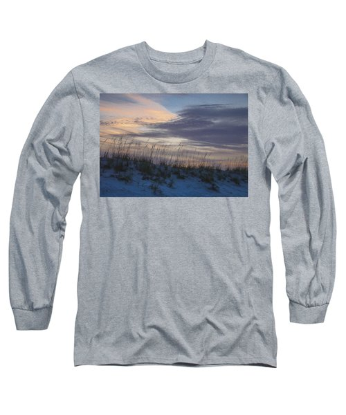 Dune Grass Blue Long Sleeve T-Shirt