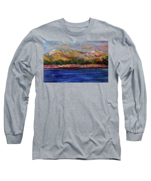 Dunes At Pilgrim Lake Long Sleeve T-Shirt by Michael Helfen