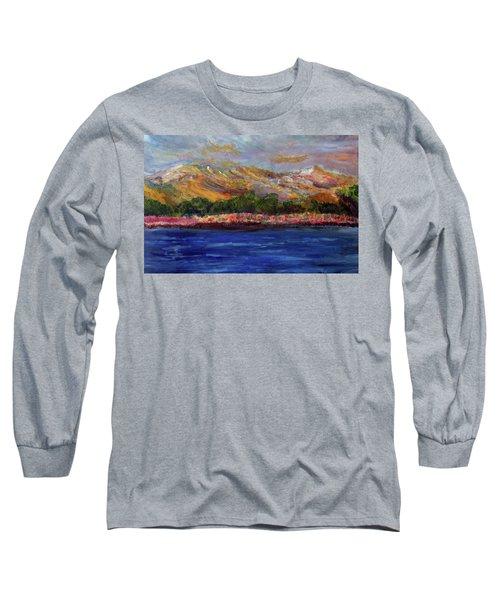 Dunes At Pilgrim Lake Long Sleeve T-Shirt