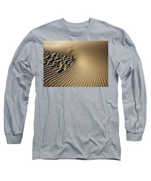Dunes Footprints Long Sleeve T-Shirt