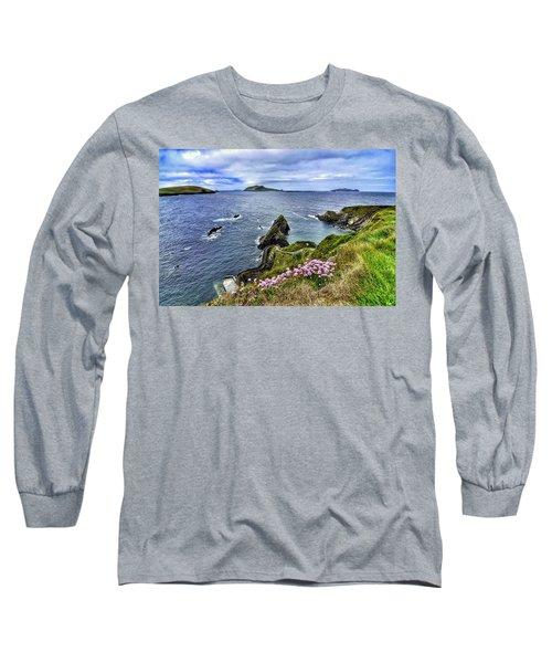 Dunquin Flowers  Long Sleeve T-Shirt