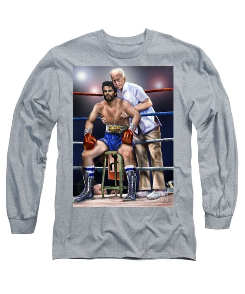 Duran Hands Of Stone 1a Long Sleeve T-Shirt
