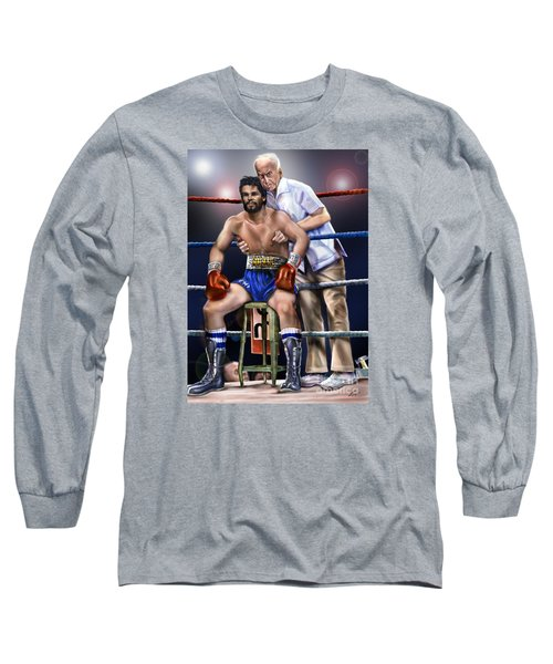 Duran Hands Of Stone 1a Long Sleeve T-Shirt