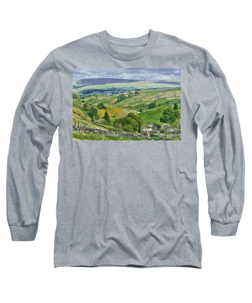 Durham Dales Countryside - Weardale Long Sleeve T-Shirt