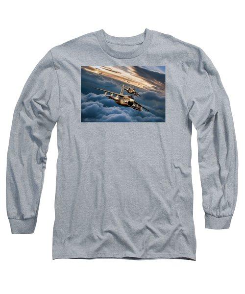Dusk Delivery Corsair II Long Sleeve T-Shirt
