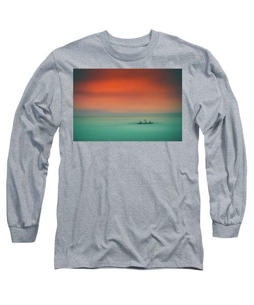 Dusk On The Lake Long Sleeve T-Shirt