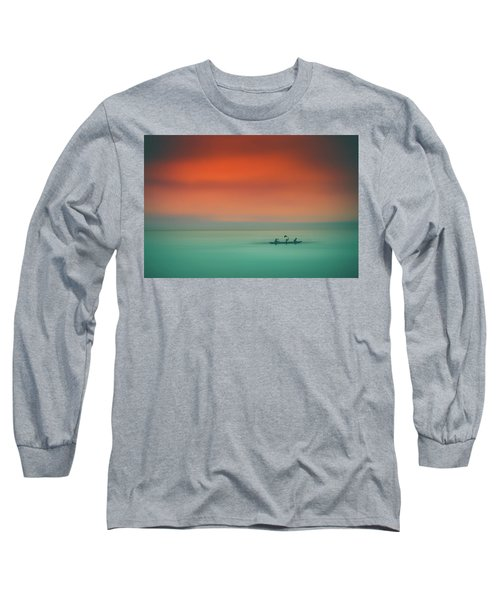 Dusk On The Lake Long Sleeve T-Shirt