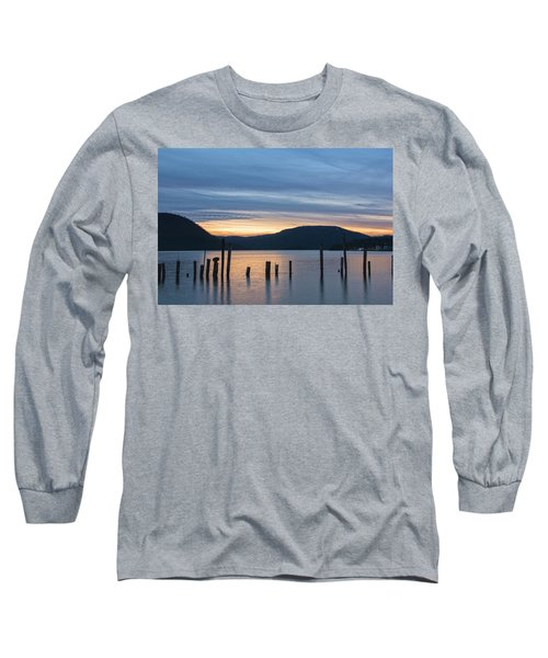 Dusk Sentinels Long Sleeve T-Shirt by Angelo Marcialis