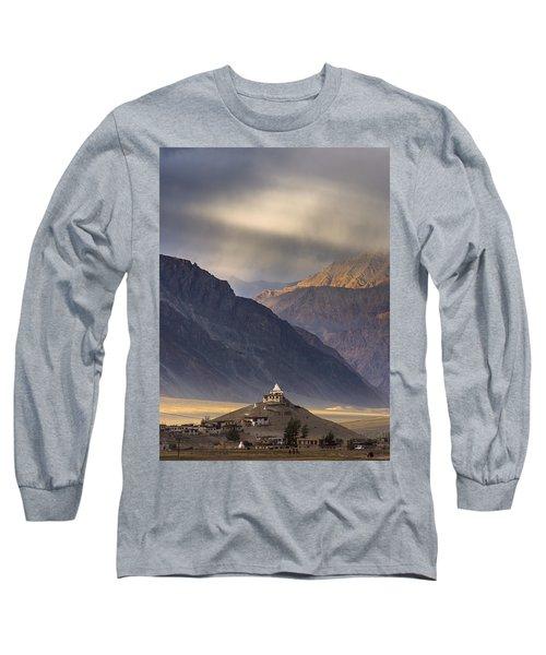 Dusty Evening, Padum, 2006 Long Sleeve T-Shirt