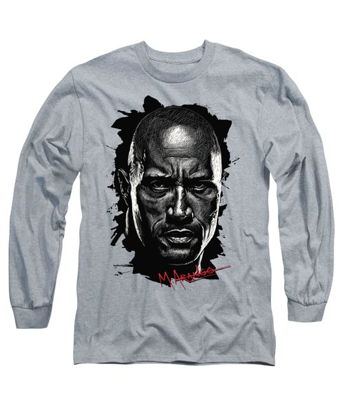 Dwayne Johnson Long Sleeve T-Shirt