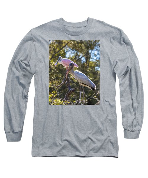 Long Sleeve T-Shirt featuring the photograph Dynamic Duo by Patricia Schaefer