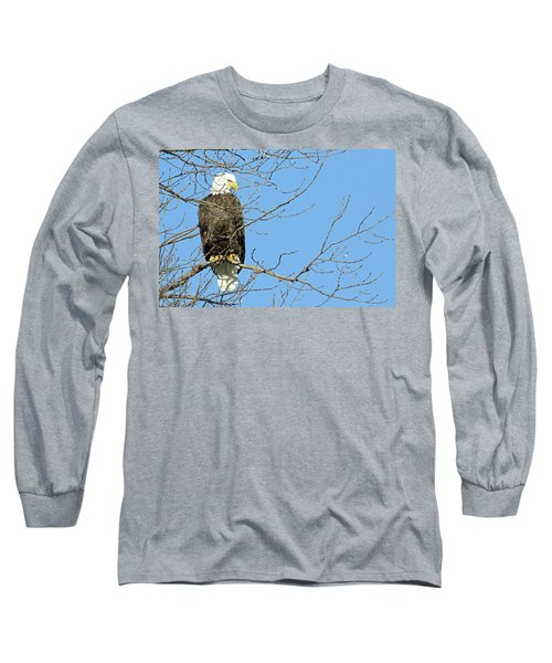 Eagle Long Sleeve T-Shirt by Brook Burling