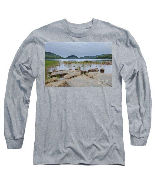 Eagle Lake Acadia National Park Long Sleeve T-Shirt