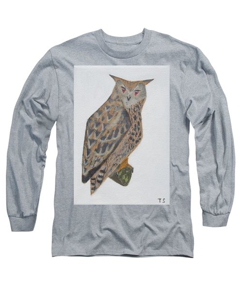Eagle Owl Long Sleeve T-Shirt