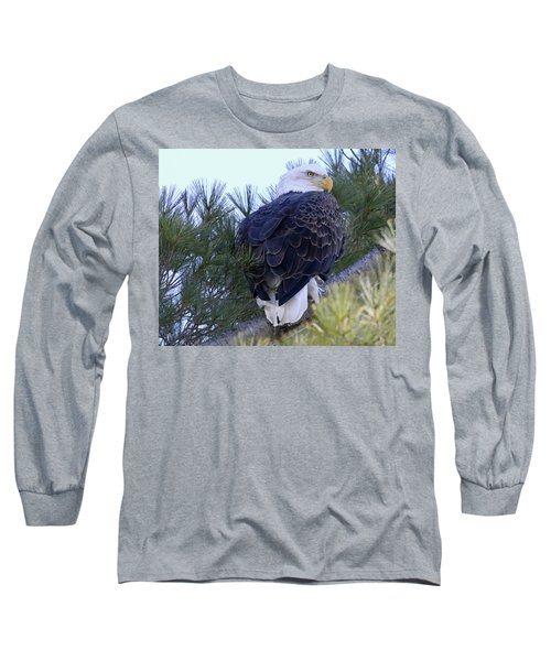 Eagle Portrait Long Sleeve T-Shirt