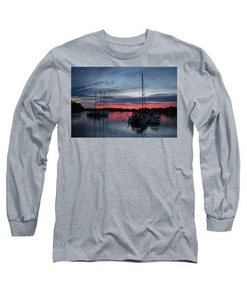 Eagles Cove Sunset Long Sleeve T-Shirt
