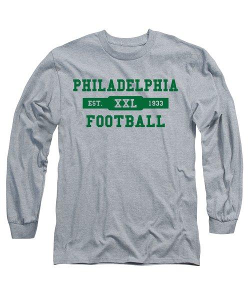 Eagles Retro Shirt Long Sleeve T-Shirt by Joe Hamilton
