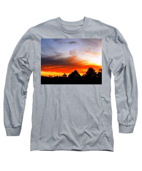 Earlier Long Sleeve T-Shirt by Adam Cornelison