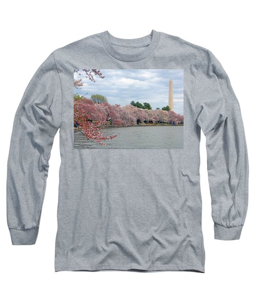 Early Arrival Of The Japanese Cherry Blossoms 2016 Long Sleeve T-Shirt